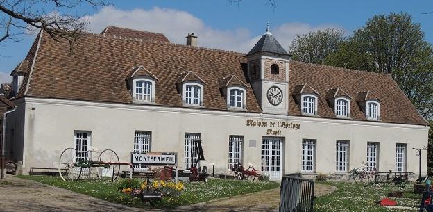 Photo du Monument Historique Maison Bourlon  ou Petit Château situé à Montfermeil