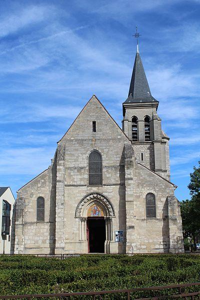 Photo du Monument Historique Eglise Saint-Baudile situé à Neuilly-sur-Marne