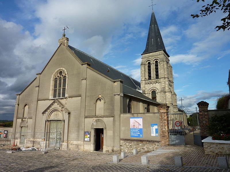 Photo du Monument Historique Eglise Saint-Sulpice et Notre-Dame situé à Noisy-le-Grand