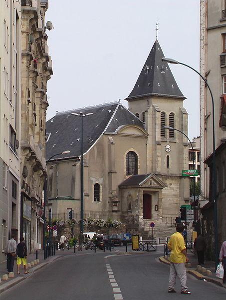 Photo du Monument Historique Eglise Saint-Germain situé à Pantin