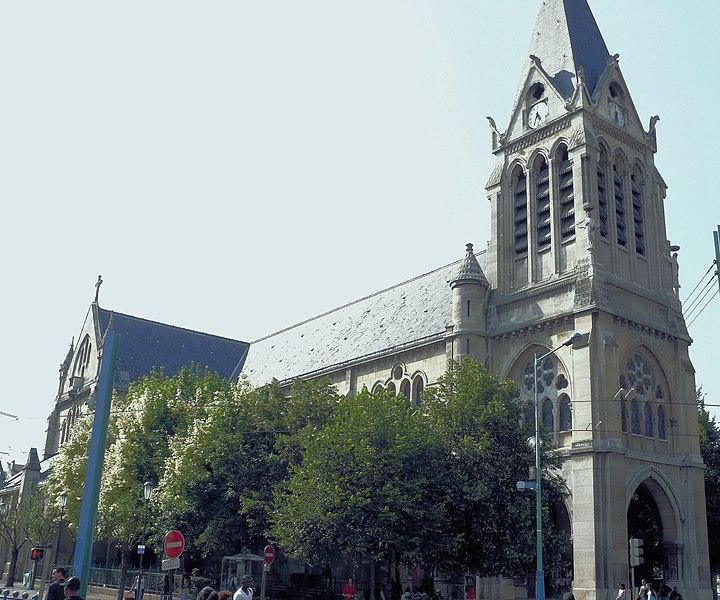 Photo du Monument Historique Eglise Saint-Denys-de-l'Estrée situé à Saint-Denis