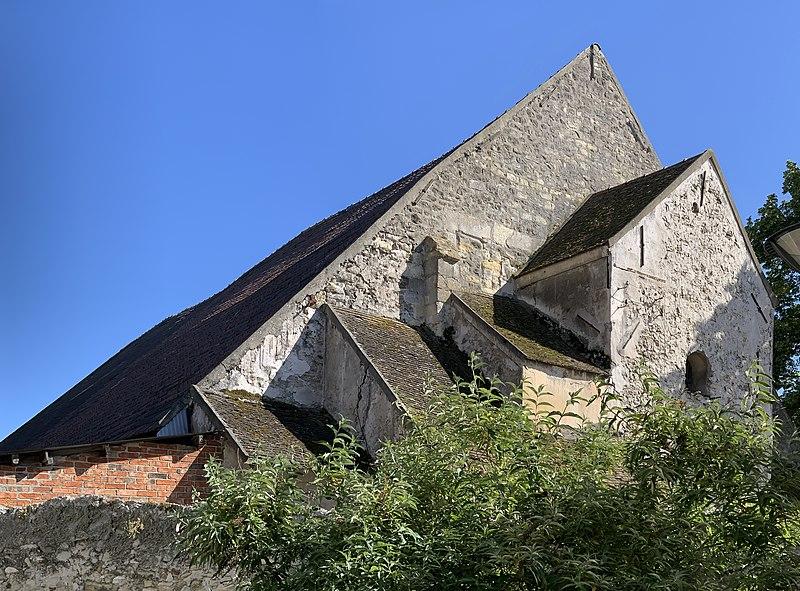 Photo du Monument Historique Grange aux dîmes situé à Tremblay-en-France