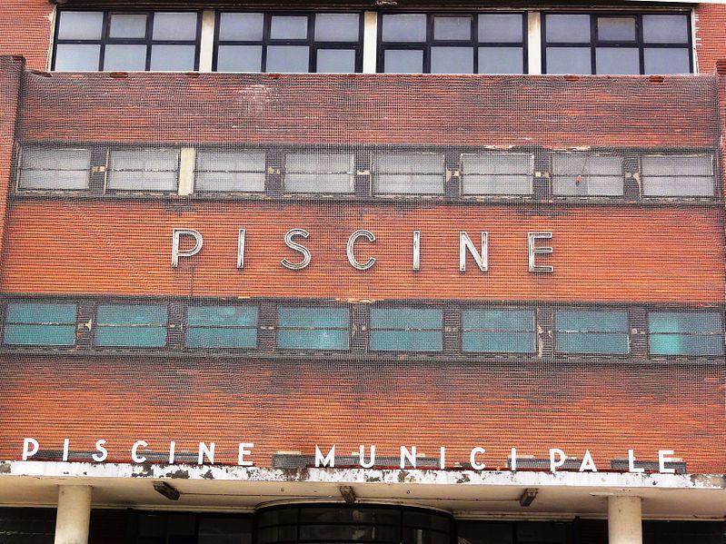 Photo du Monument Historique Piscine situé à Pantin