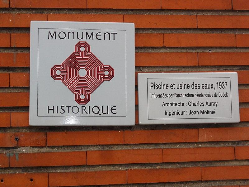 Photo du Monument Historique Usine élévatrice des eaux situé à Pantin