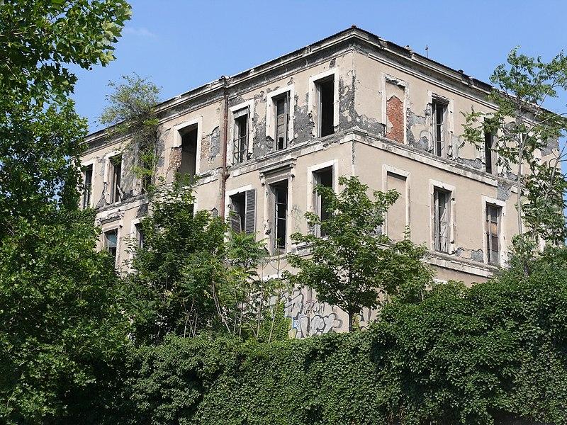 Photo du Monument Historique Ancienne usine Coignet situé à Saint-Denis