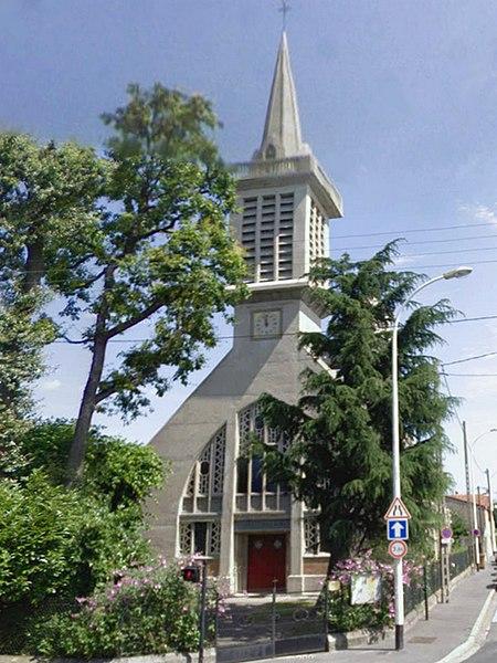 Photo du Monument Historique Eglise Notre-Dame de l'Assomption ou Notre-Dame d'Avron situé à Neuilly-Plaisance