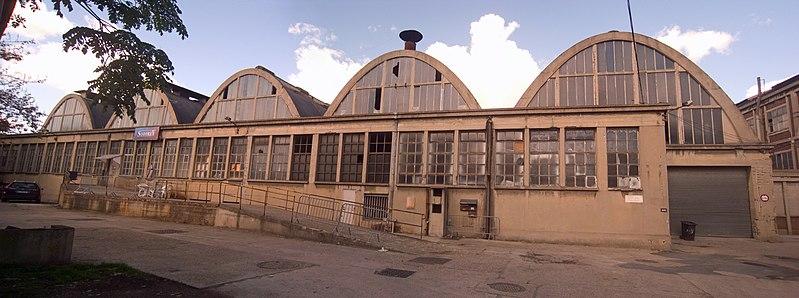 Photo du Monument Historique Anciens ateliers de réparation SNCF de La Plaine situé à Saint-Denis