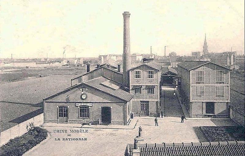 Photo du Monument Historique Ancienne manufacture d'allumettes, actuellement siège de la Documentation française situé à Aubervilliers
