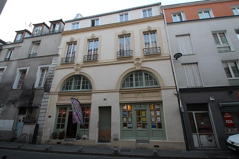 Photo du Monument Historique Maison dite Maison des Masques ou Maison des Quatre-Saisons situé à Saint-Denis
