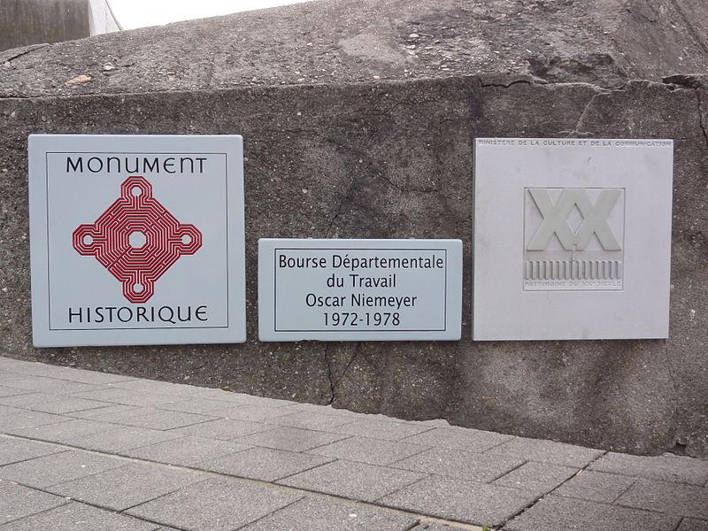 Photo du Monument Historique Bourse départementale du Travail situé à Bobigny