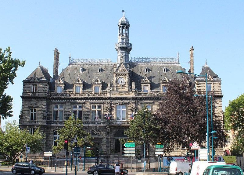 Photo du Monument Historique Hôtel de ville situé à Pantin