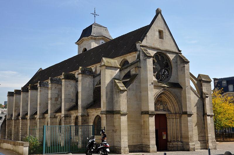 Photo du Monument Historique Eglise Saint-Denys situé à Arcueil