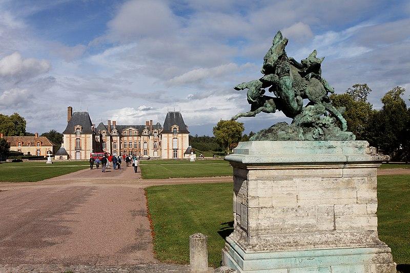 Photo du Monument Historique Domaine du château de Grosbois situé à Boissy-Saint-Léger ; Villecresnes