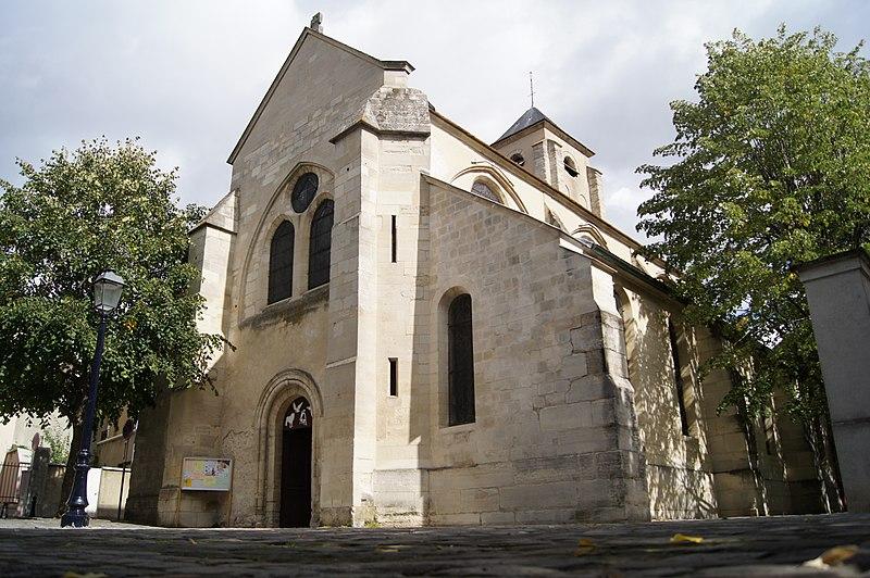 Photo du Monument Historique Eglise Saint-Saturnin situé à Champigny-sur-Marne