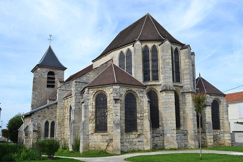 Photo du Monument Historique Eglise Saint-Pierre-Saint-Paul situé à Chennevières-sur-Marne