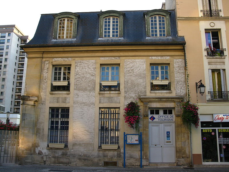 Photo du Monument Historique Immeuble du 18s situé à Choisy-le-Roi