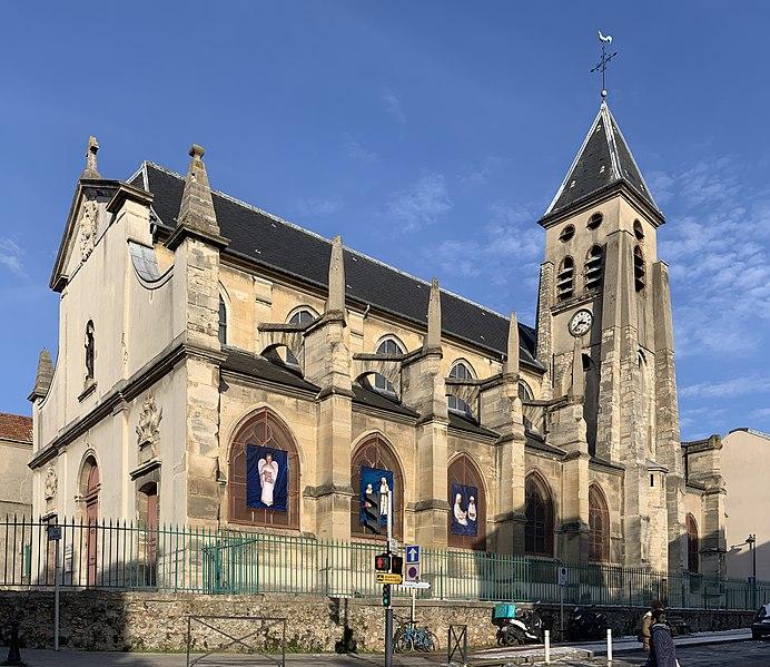 Photo du Monument Historique Eglise Saint-Germain-l'Auxerrois situé à Fontenay-sous-Bois