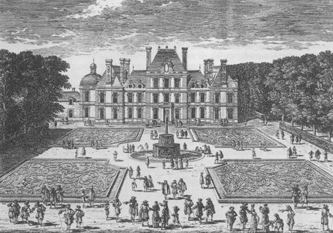 Photo du Monument Historique Château de Berny situé à Fresnes
