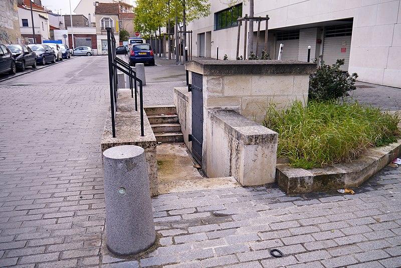 Photo du Monument Historique Aqueduc des Eaux de Rungis (également sur communes de Rungis, Fresnes, L'Hay-les-Roses, Cachan, Arcueil et Paris 14) situé à Gentilly