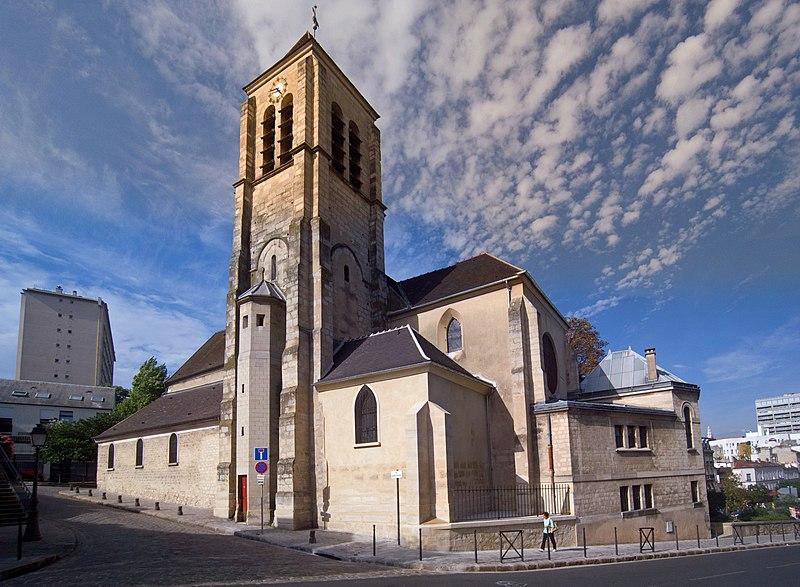 Photo du Monument Historique Eglise Saint-Pierre-Saint-Paul situé à Ivry-sur-Seine