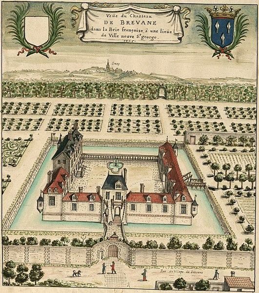 Photo du Monument Historique Ancien château de Brévannes, groupe hospitalier Emile Roux situé à Limeil-Brévannes