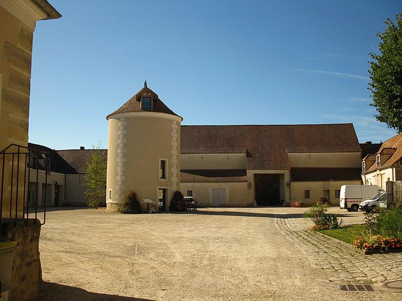 Photo du Monument Historique Ferme de Monsieur situé à Mandres-les-Roses