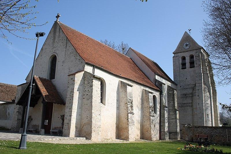 Photo du Monument Historique Eglise Saint-Julien-de-Brioude situé à Marolles-en-Brie