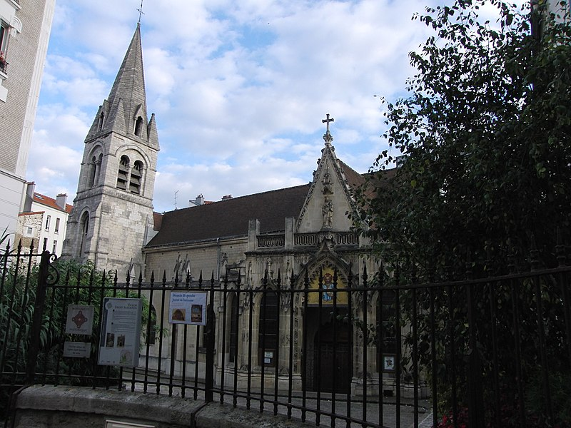 Photo du Monument Historique Eglise Saint-Saturnin situé à Nogent-sur-Marne