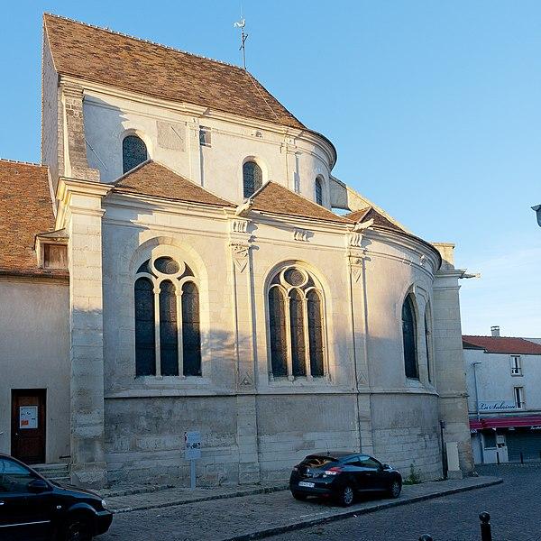 Photo du Monument Historique Eglise Saint-Germain-de-Paris situé à Orly