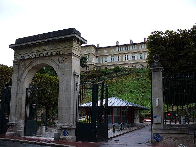 Photo du Monument Historique Hôpital Esquirol (ancien asile de Charenton) situé à Saint-Maurice