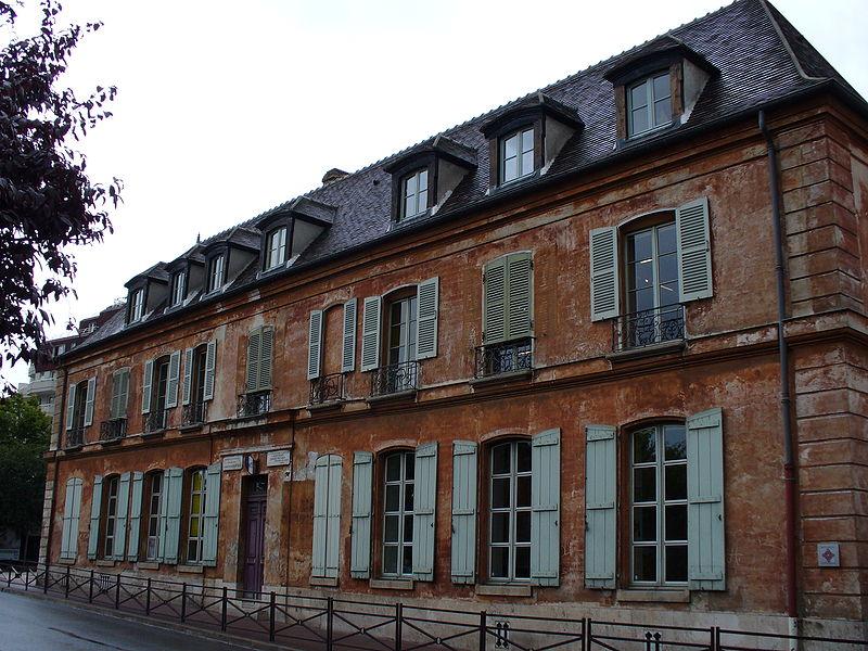 Photo du Monument Historique Maison natale d'Eugène Delacroix situé à Saint-Maurice