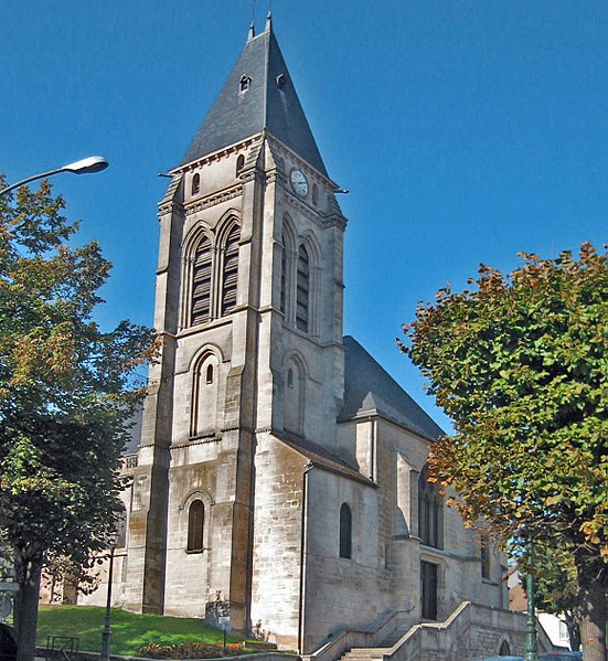Photo du Monument Historique Eglise Saint-Leu-Saint-Gilles situé à Thiais