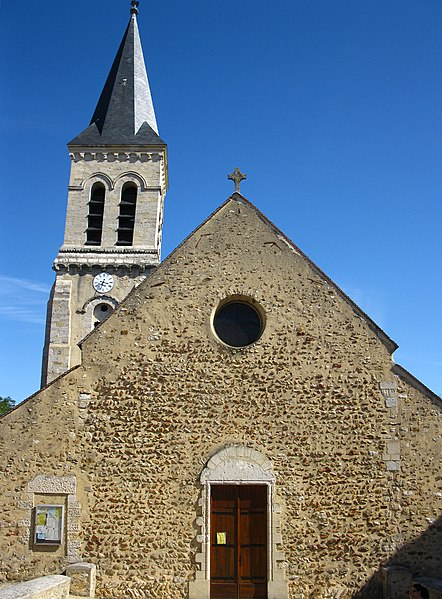 Photo du Monument Historique Eglise Notre-Dame situé à Villecresnes