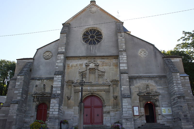 Photo du Monument Historique Eglise Saint-Georges situé à Villeneuve-Saint-Georges
