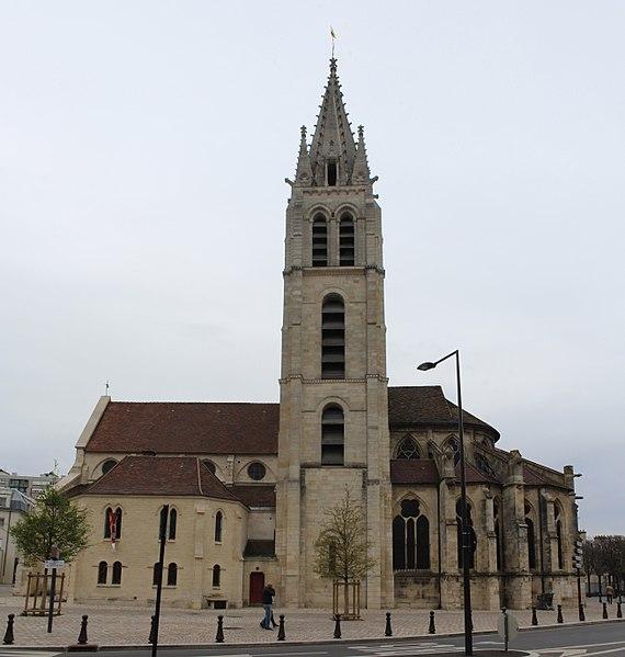 Photo du Monument Historique Eglise Saint-Germain situé à Vitry-sur-Seine