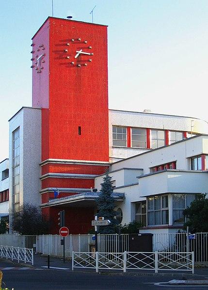 Photo du Monument Historique Groupe scolaire Condorcet situé à Maisons-Alfort