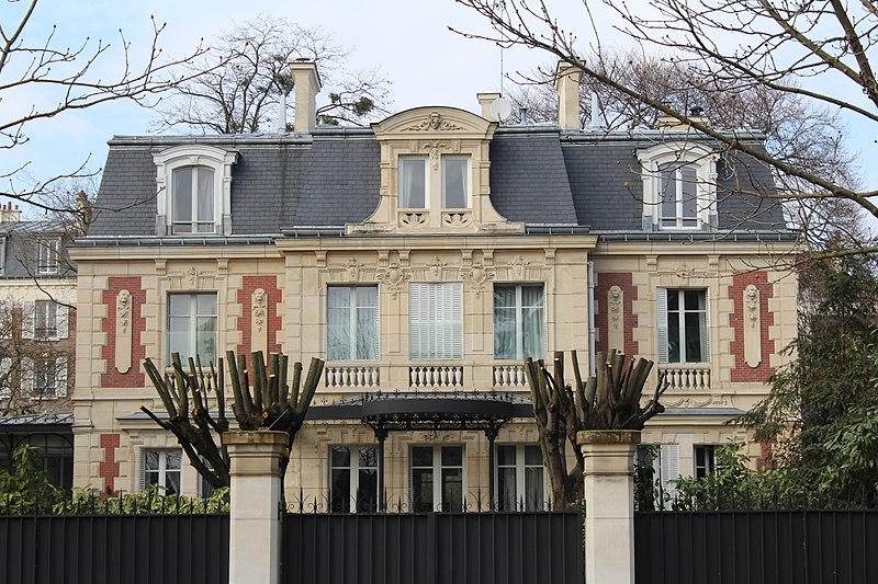 Photo du Monument Historique Maison situé à Saint-Mandé