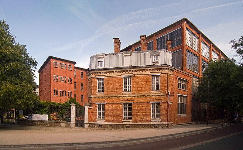Photo du Monument Historique Ancienne manufacture des Oeillets situé à Ivry-sur-Seine