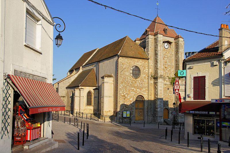 Photo du Monument Historique Eglise Saint-Nicolas situé à Queue-en-Brie (La)