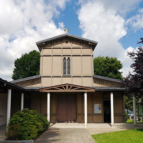 Photo du Monument Historique Eglise Notre-Dame de l'Assomption situé à Rungis