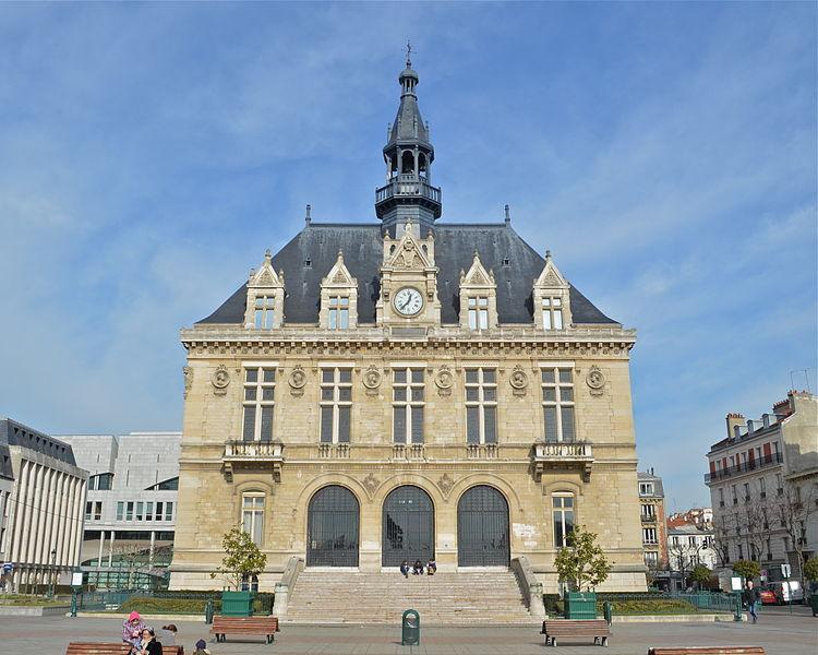 Photo du Monument Historique Hôtel de ville de Vincennes situé à Vincennes