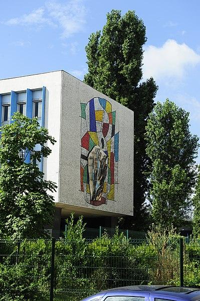 Photo du Monument Historique Ancienne usine gazière cokerie Paris-Sud situé à Alfortville