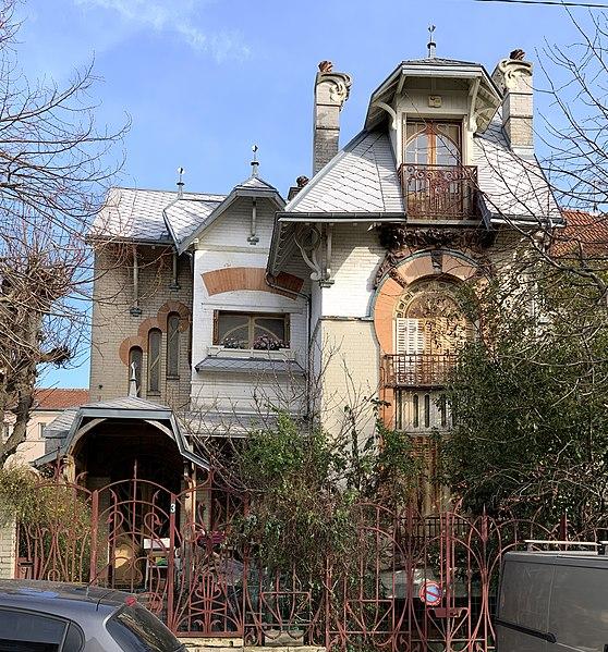 Photo du Monument Historique Maison d'Albert Nachbaur situé à Nogent-sur-Marne