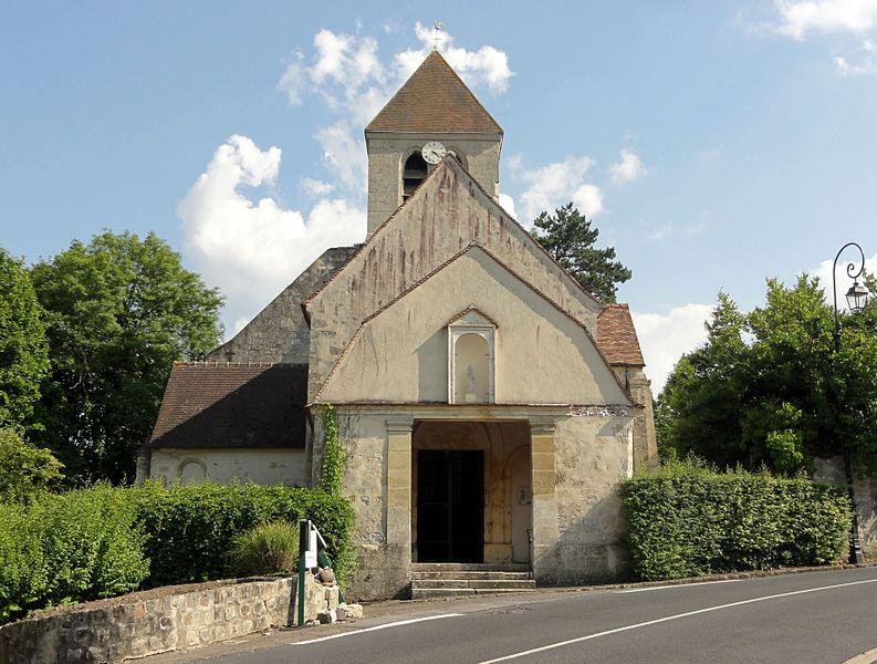 Photo du Monument Historique Eglise situé à Ableiges