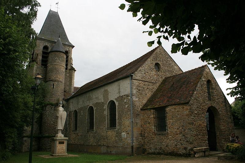 Photo du Monument Historique Eglise situé à Aincourt