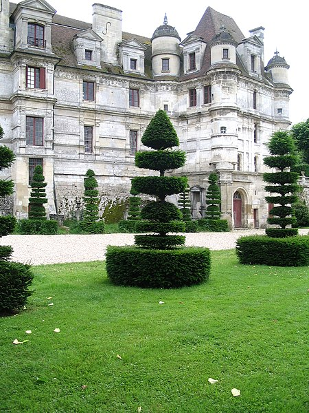 Photo du Monument Historique Château situé à Ambleville