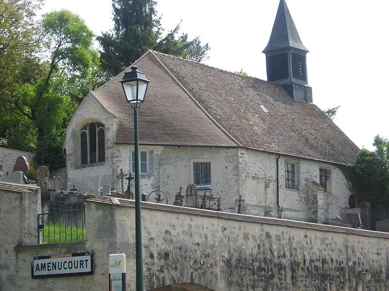 Photo du Monument Historique Eglise situé à Amenucourt
