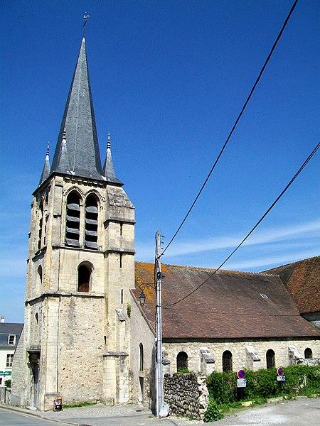 Photo du Monument Historique Eglise Saint-Rémi situé à Asnières-sur-Oise