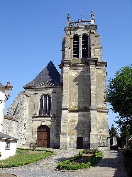 Photo du Monument Historique Eglise Saint-Martin situé à Attainville