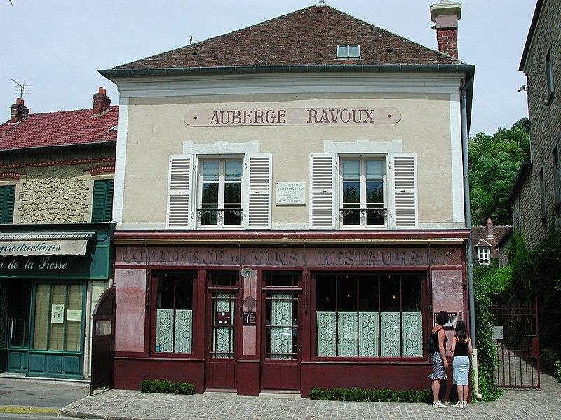 Photo du Monument Historique Auberge Ravoux situé à Auvers-sur-Oise